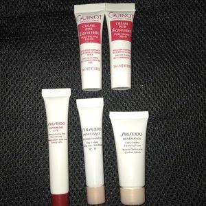 Shiseido Guinot Skin Care Samples NEW